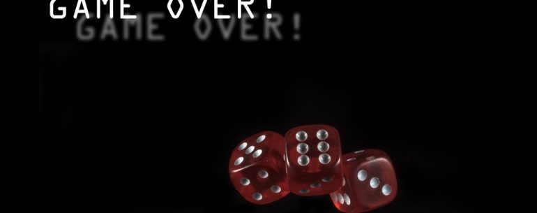 game over dice